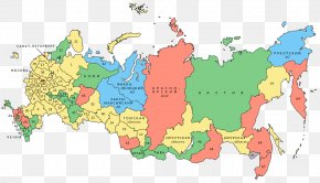 Map - Oblasts Of Russia Republics Of Russia Federal Subjects Of Russia Russian Presidential Election, 2018 Map PNG