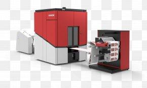 Digital Label - Drupa Paper Printing Press Label Printer PNG