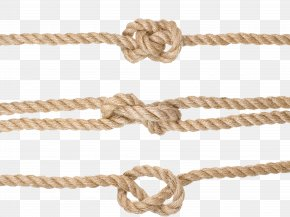 Knotted Rope - Rope Knot Hemp PNG