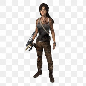 Tomb Raider - Figurine Action & Toy Figures Costume Mercenary PNG