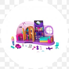 Polly Pocket - Playset Polly Pocket Mattel Toy Doll PNG
