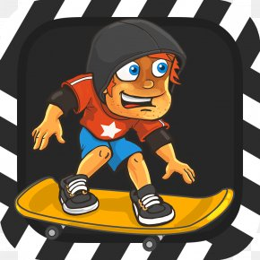 Smiley - Cartoon Drawing Street Surfing Clip Art PNG