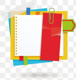 Pin Paper Promotional Column Elements - Paper Notebook Icon PNG