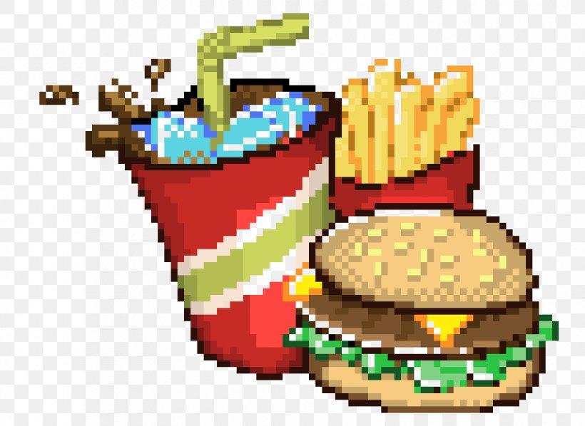 Minecraft Fast Food Pixel Art Drawing, PNG, 890x650px ...