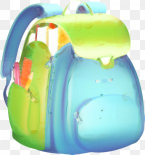Bath Toy Kettle - School Bag Cartoon PNG