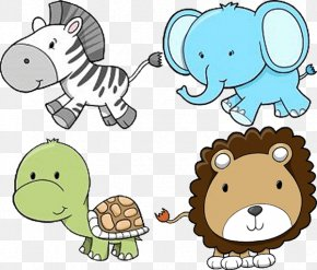 Zoo Animals Images - Baby Zoo Animals Baby Jungle Animals Clip Art PNG