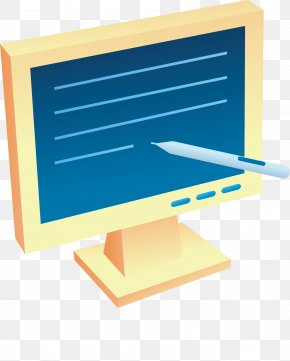 Touch Computer Vector Material - Computer Button Download PNG