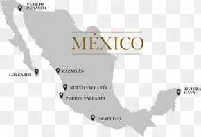 Grand Palace - Mexico Vector Map PNG