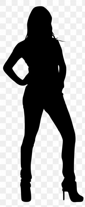 Silhouette - Silhouette Woman Clip Art PNG