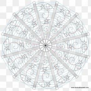 Mandala Pattern Background - Mandala Coloring Book Child Drawing Morning Glories And Sapphires PNG