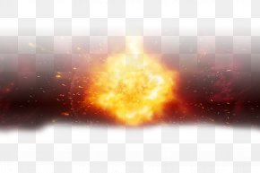 Fire Effects - Light Explosion Red Icon PNG