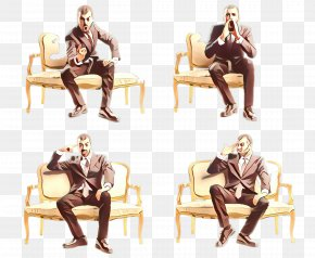 Chair Sitting - Sitting Chair PNG