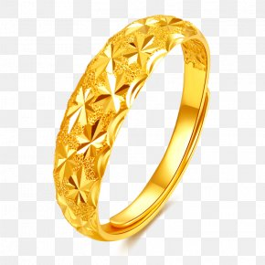 Gold Rings Gold Jewelry Ring - Wedding Ring Gold Jewellery PNG