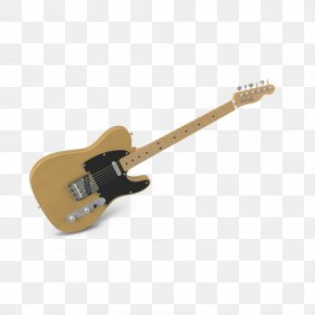 Vintage Electric Guitar Tilt - Bass Guitar Electric Guitar Musical Instrument PNG
