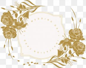 Wedding Invitation Card - Wedding Invitation Flower Floral Design PNG