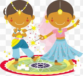 Vector India Diwali Deepavali - Diwali Clip Art PNG