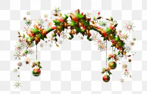 Christmas - Ded Moroz New Year Christmas Garland PNG