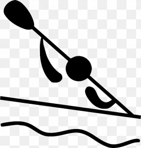 Pictogram Canoe Slalom Canoeing And Kayaking At The Summer Olympics Clip Art PNG
