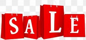 Sale Bags Red Clip Art Image - Sales Shopping Bag Clip Art PNG