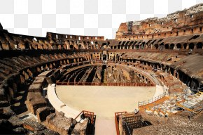 Colosseum Inside - Colosseum Pantheon Amalfi Coast Sorrento Milan PNG