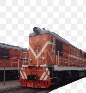 The Rest Of The Train - Train Railroad Car Rail Transport Passenger Car Track PNG