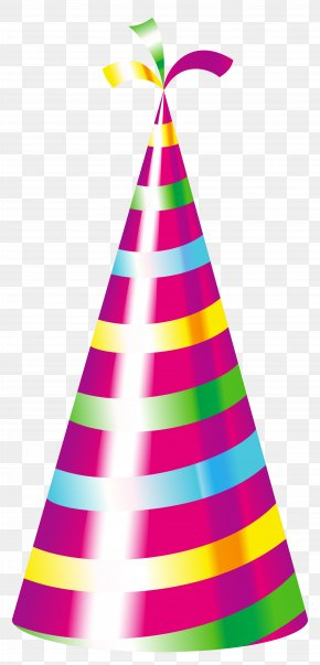 Party - Birthday Cake Party Hat Clip Art PNG