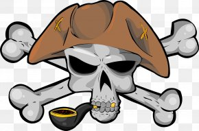 Pirate - Golden Age Of Piracy Pirate Round Jolly Roger Skull PNG