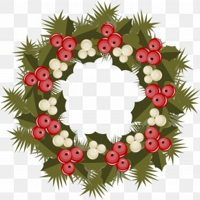 Creative Christmas Wreath - Kissing Bough Christmas Ornament Wreath PNG