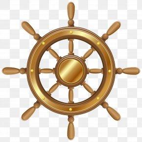 Boat Wheel Transparent PNG Clip Art Image - Ship's Wheel Steering Wheel Boat Clip Art PNG