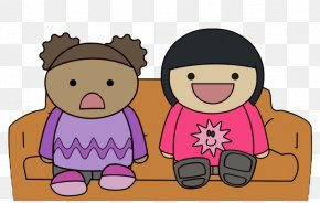 Watching TV Cliparts - Child Television Free Content Clip Art PNG