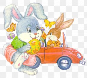 Creative Easter Bunny - Easter Bunny Easter Egg Rabbit PNG
