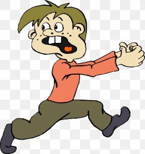 Kids Cartoon - Cartoon Fear Royalty-free Clip Art PNG