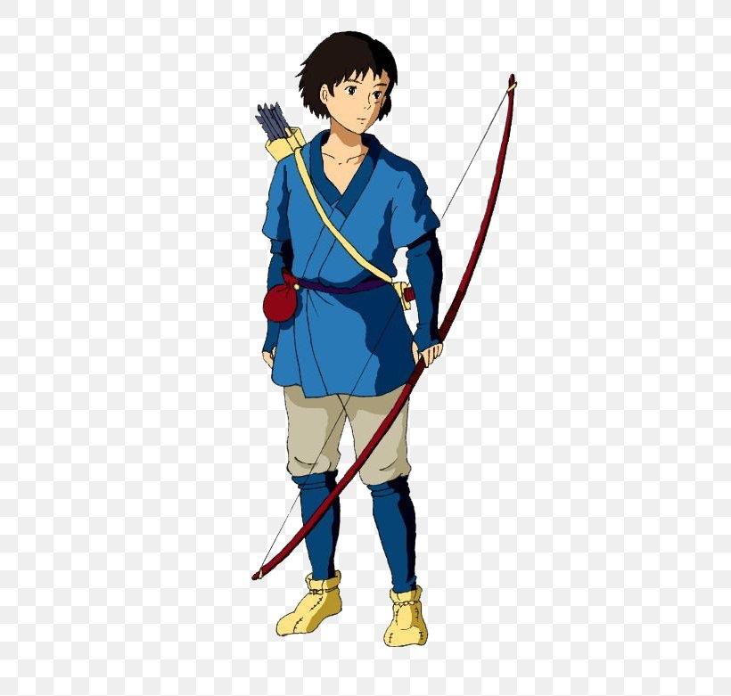 Ashitaka Princess Mononoke San Costume Cosplay Png 373x781px