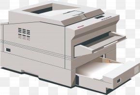 Cartoon Printer - Printer Cartoon Computer File PNG