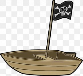 Flag Cartoon - Ship Cartoon PNG