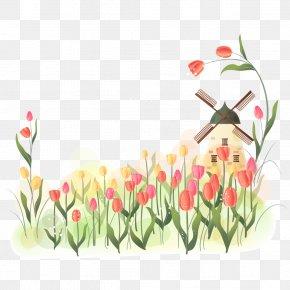 Tulip Pastoral Scenery - Indira Gandhi Memorial Tulip Garden Flower Clip Art PNG