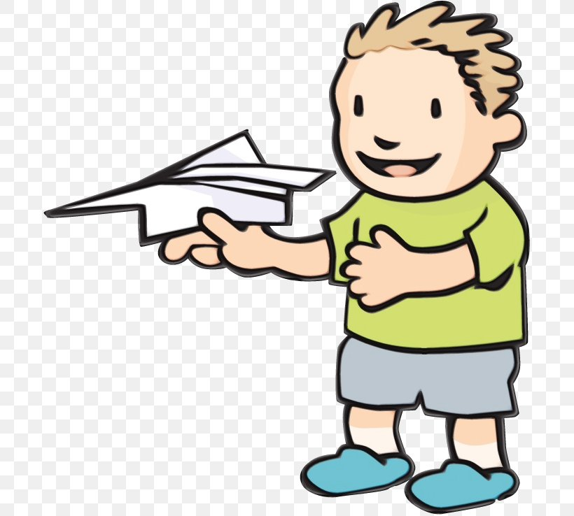 Paper Airplane Drawing Png 700x738px Watercolor Airplane