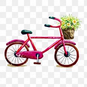 Spring Bike - Cartoon Download Clip Art PNG