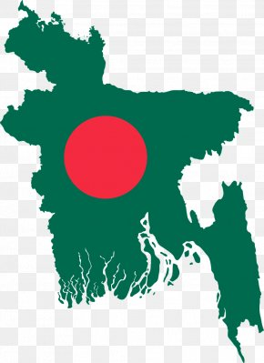 Flag - Flag Of Bangladesh Map National Flag PNG