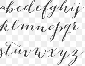 Calligraphy - Script Typeface Calligraphy Myriad Font PNG