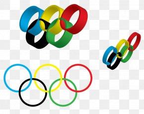 Olympic Rings - 2014 Winter Olympics 2012 Summer Olympics Olympic Games 2024 Summer Olympics Olympic Symbols PNG