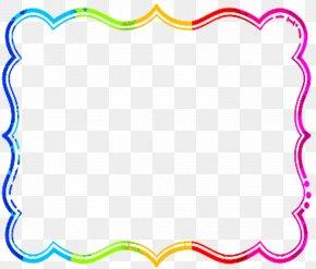Cursive Cliparts Border - Free Content Paper Picture Frame Clip Art PNG