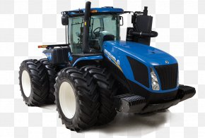 Tractor - John Deere New Holland Agriculture Tractor Heavy Machinery PNG