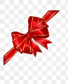 Red Bow - Red Ribbon Illustration PNG