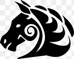Horse Tattoo - Horse Download Silhouette PNG