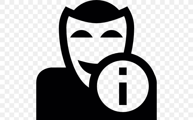 Avatar YouTube Anonymous, PNG, 512x512px, Avatar, Anonymous, Black, Black And White, Blog Download Free