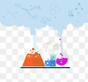 Chemistry Lab - Laboratory Chemistry Experiment Euclidean Vector PNG