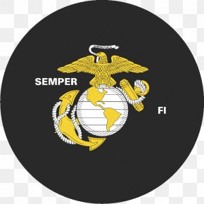 Semper Fidelis - Marine Corps Base Camp Lejeune United States Marine Corps Eagle, Globe, And Anchor Marines Military PNG