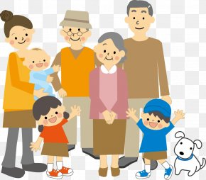 Family Members - Family Household Child Infant Person PNG