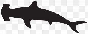 Hammerhead Shark Silhouette Clip Art Image - Shark Silhouette Porpoise PNG